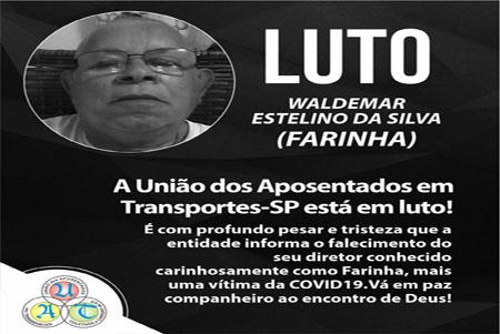 A UNIAO DOS APOSENTADOS EM TRANSPORTES-SP ESTÁ EM LUTO